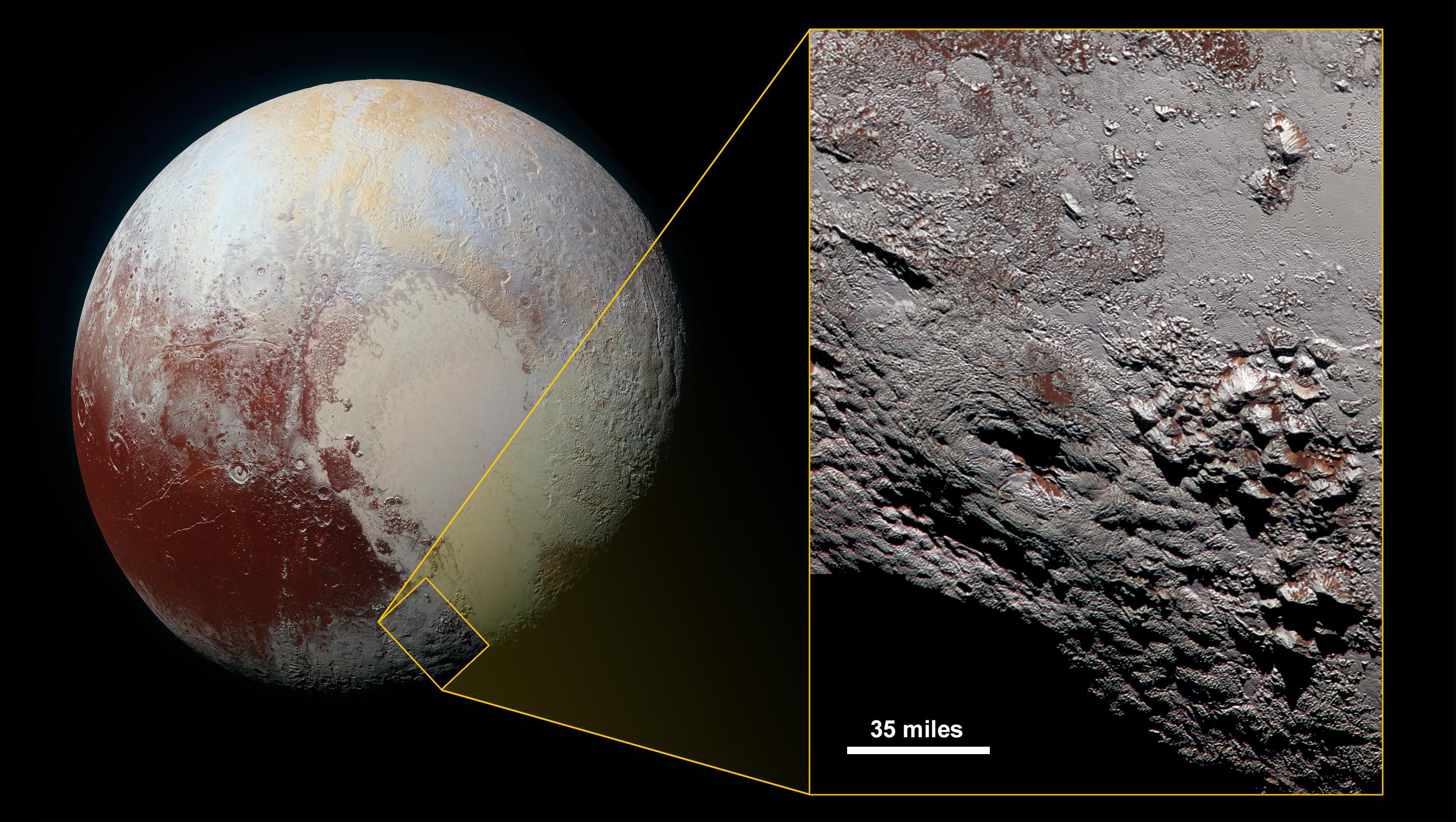 NASA показало видео полета New Horizons над Плутоном иХароном