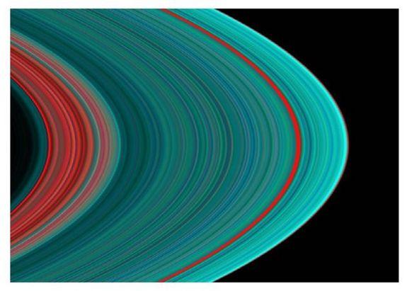 Кольца Сатурна: полная фотогалерея