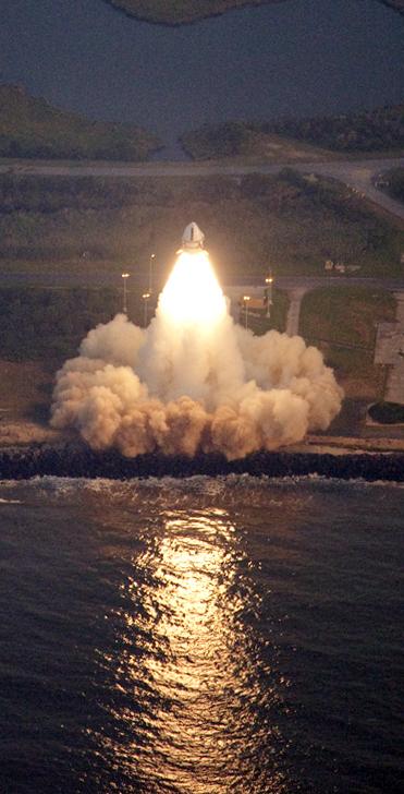 Ракета Antares поднимет Уоллопс к новым высотам