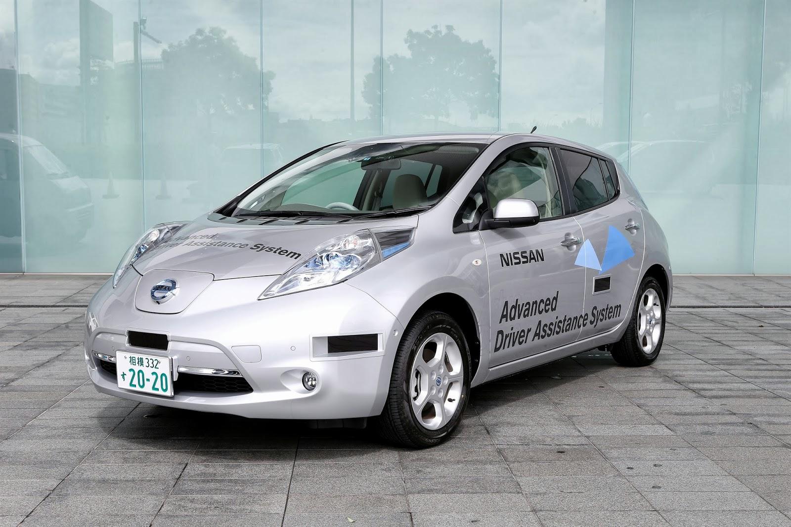 Nissan намерен приступить к коммерческому производству роботизированных электромобилей в 2020 году
