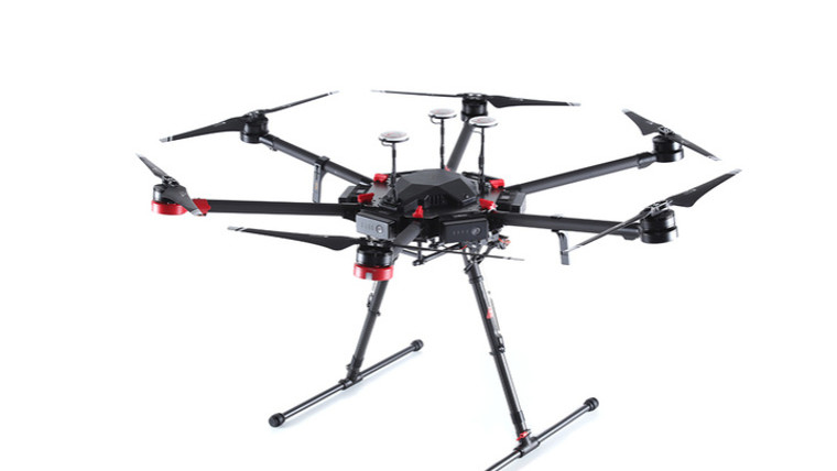 На Рейкьявике суши доставляют дроны