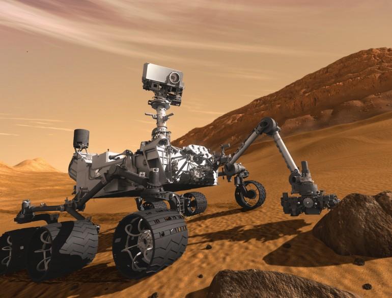 Курьозити прошел километр по Марсу