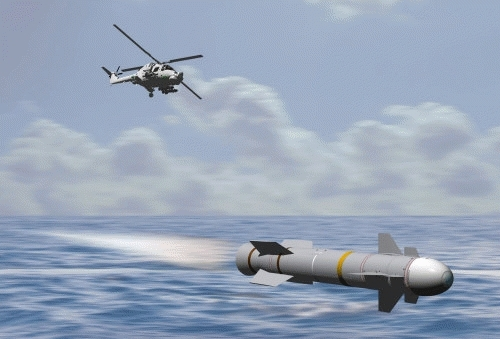 Стартует совместный англо-французский проект по созданию противокорабельной ракеты