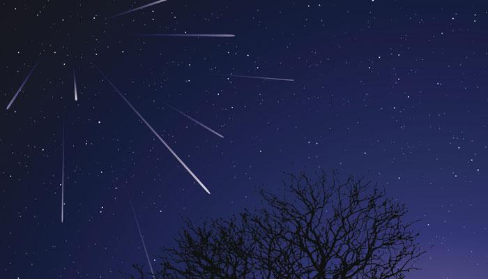 Вночь с3 на4января земляне смогут увидеть метеоритный дождь