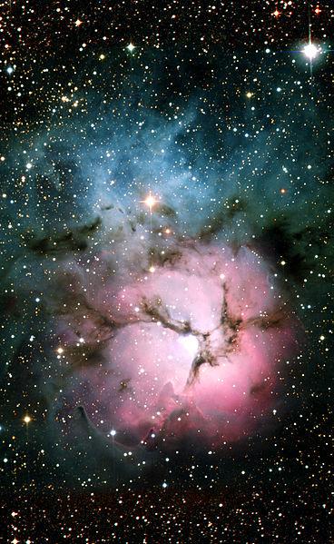 Ее ширина - 50 световых лет.