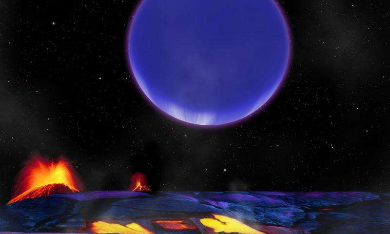 Ученые определили физические условия на 2-х экзопланетах