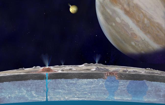 В недрах спутника Юпитера происходит нечто странное