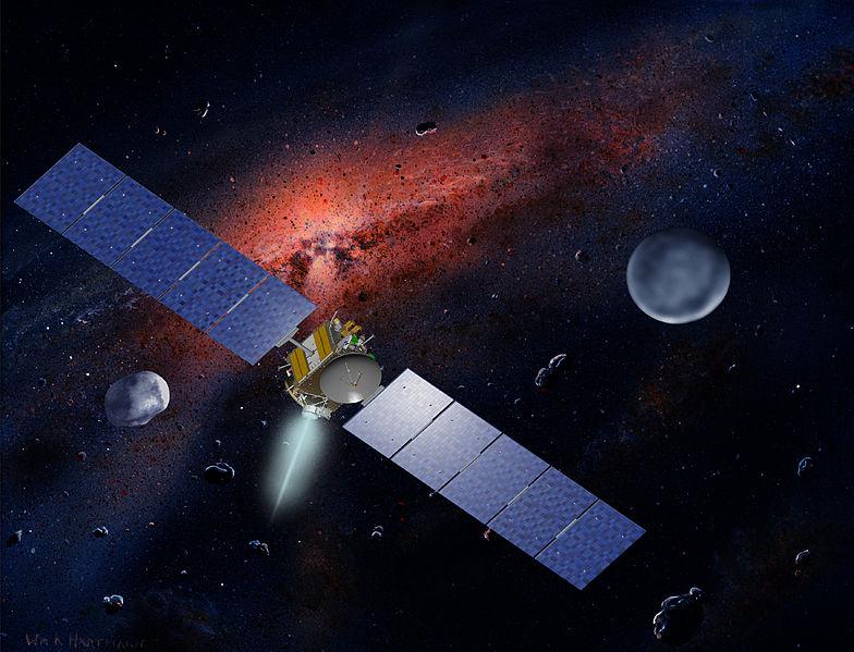 17 июля станция «Рассвет» достигнет орбиты астероида Весты