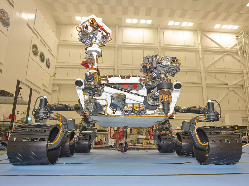 NASA определилось с местом высадки робота-исследователя Curiosity