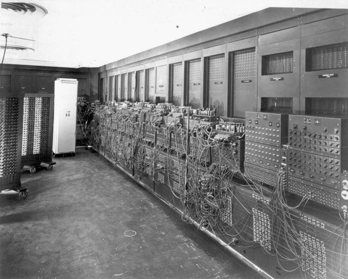 Курсовая первый компьютер в мире википедия спорта художественной