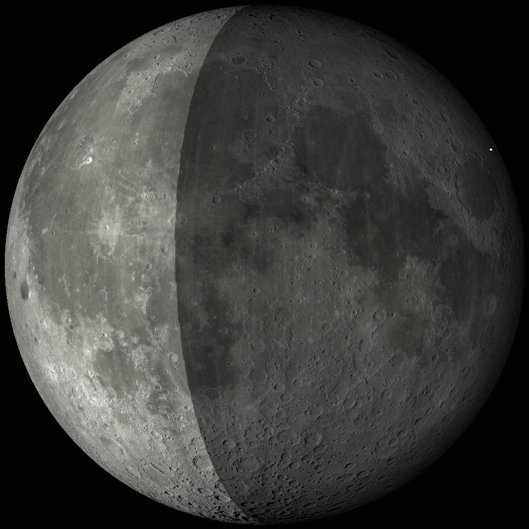 Представлен новый лунный ударный кратер в 3D