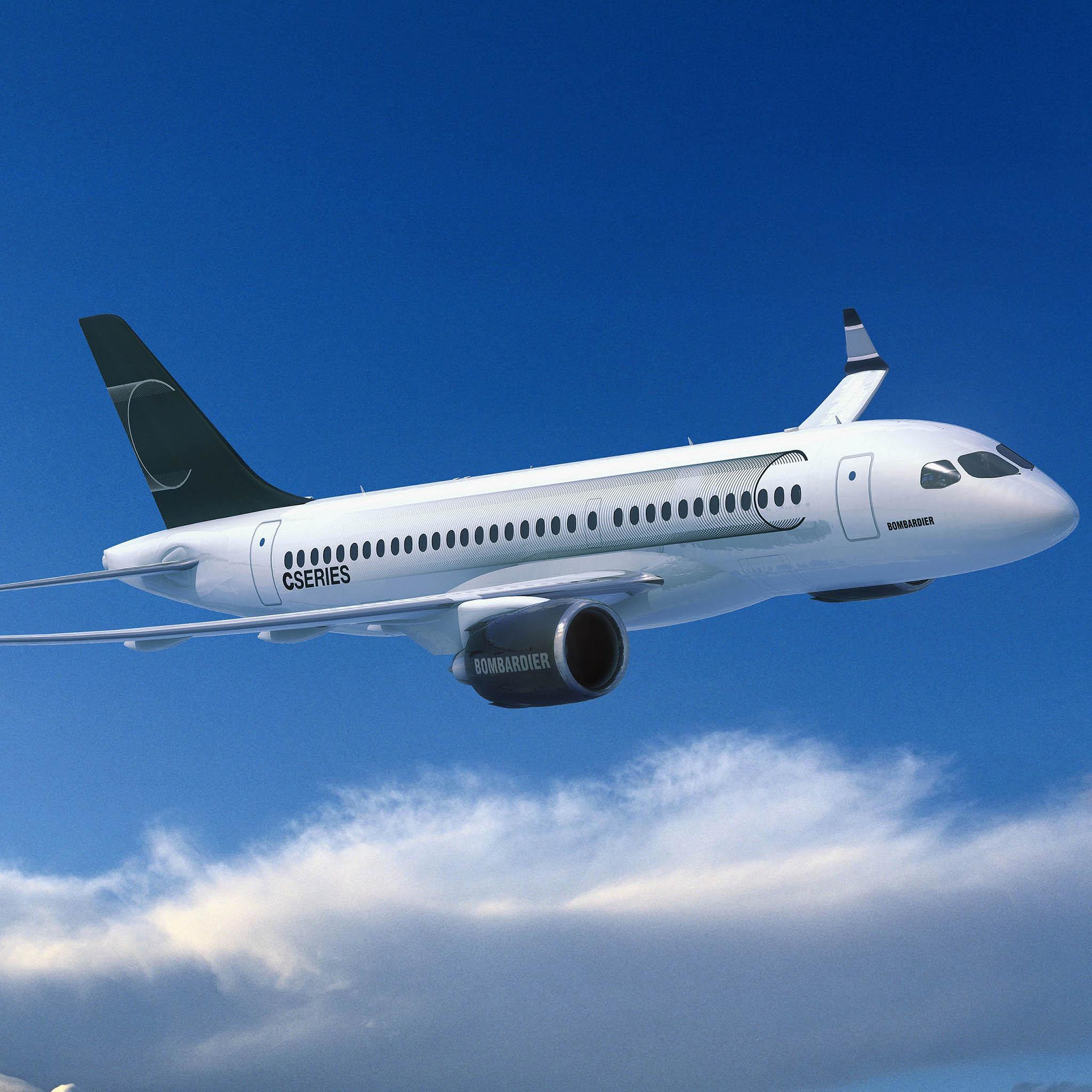 Швейцария проявила интерес к 160-местному Bombardier CS300
