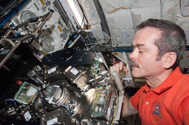 Кадр Дня: американский астронавт осуществляет работу на МКС