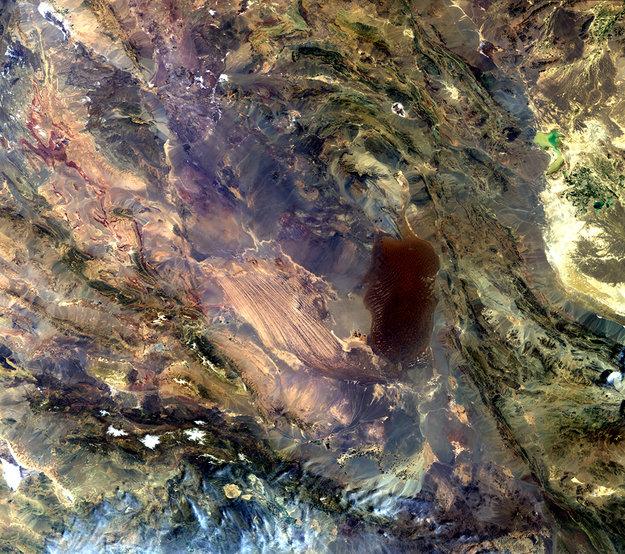 Взгляд из космоса на самую горячую точку на Земле
