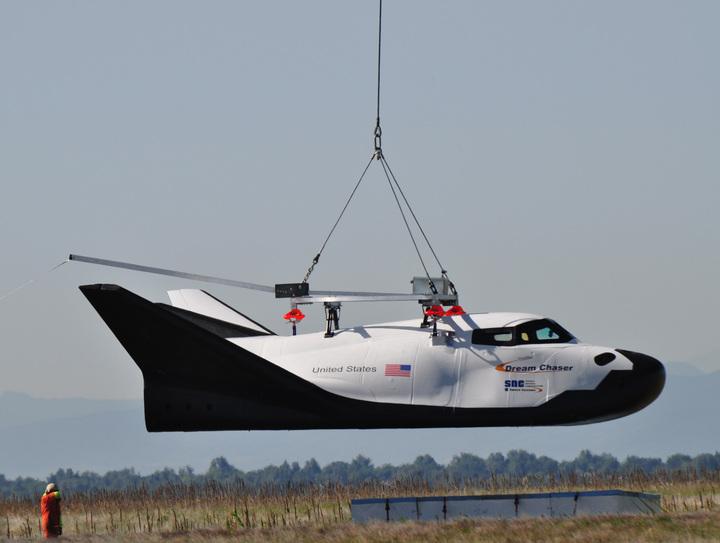 КА Dream Chaser удачно прошел очередные испытания