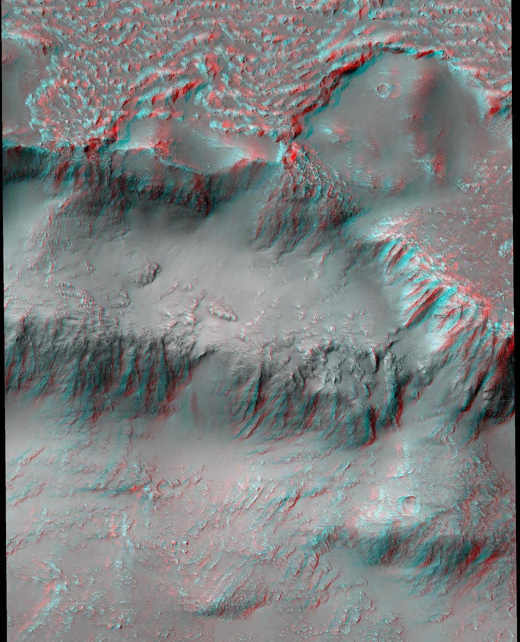 NASA засняло марсианский «водопад»: опубликовано фото