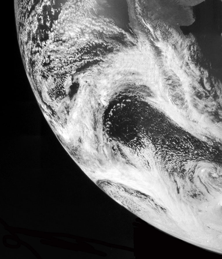 КА Юнона сфотографировала нашу планету