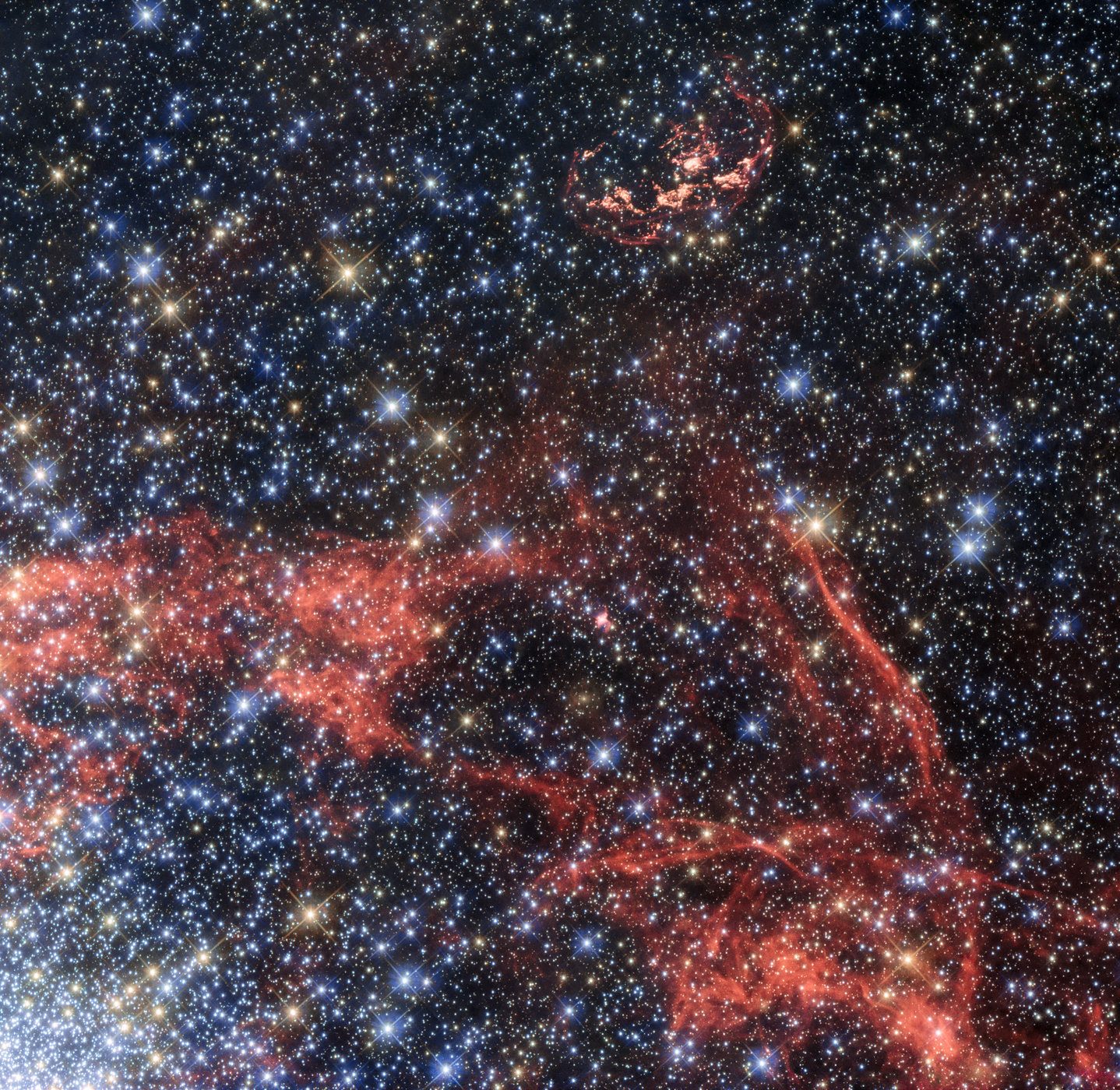 «Хаббл» сделал снимок остатка сверхновой звезды