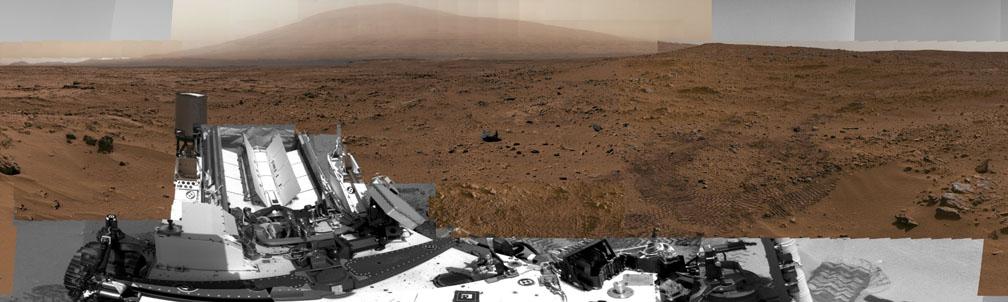 1,3-миллиардно-пиксельное фото Красной планеты