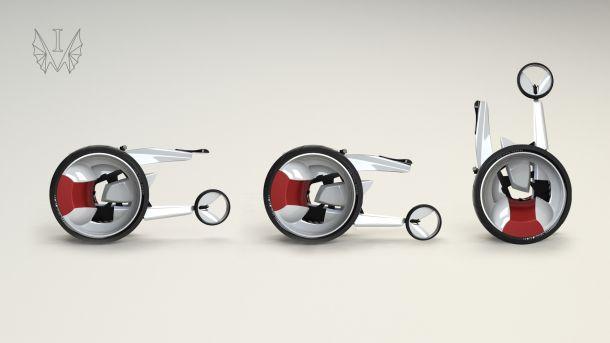 Monobike - быстрая езда с нулевым выбросом