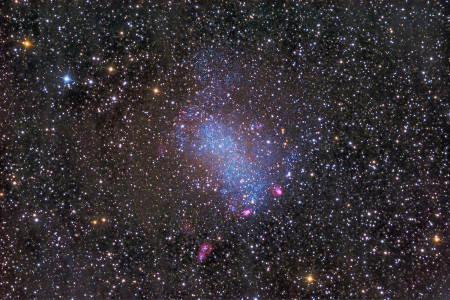 Свежее изображение галактики Бернарда от LARI