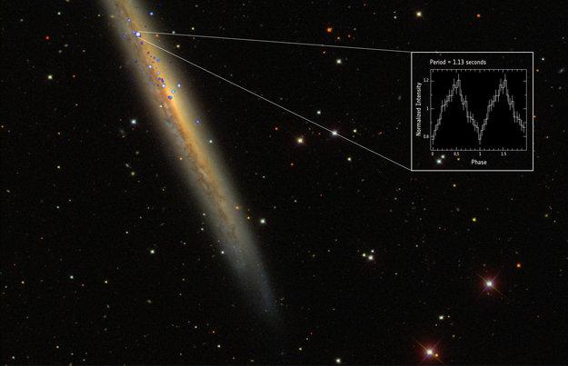 Европейские ученые обнаружили самый яркий пульсар во Вселенной