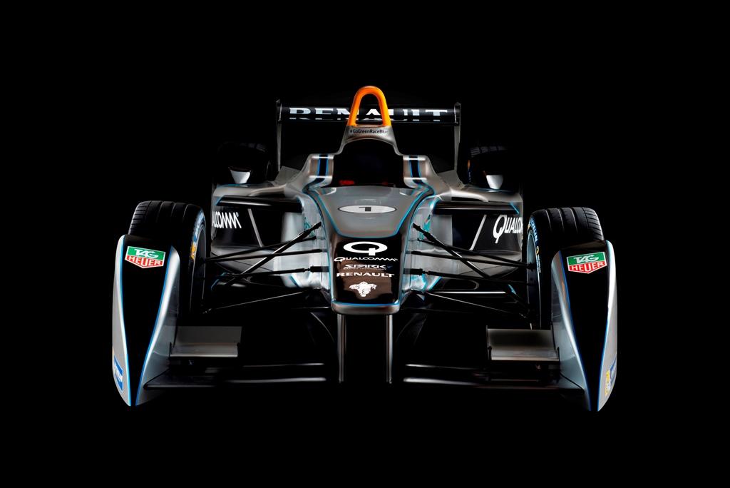 Spark Renault: первый электрический болид для Formula E