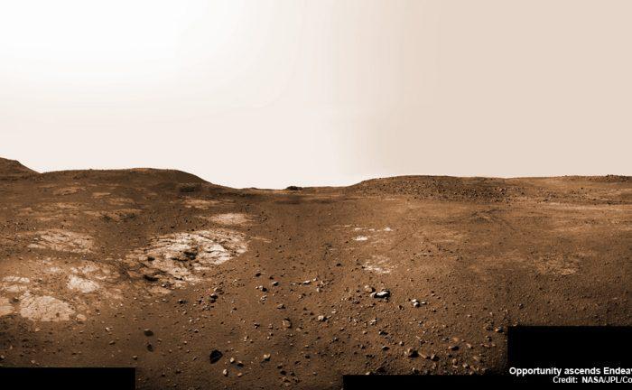 Марсоход Opportunity отпраздновал 13 год жизни наМарсе
