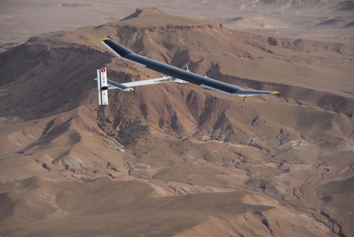 Солнечный аэроплан прошел финальный тест