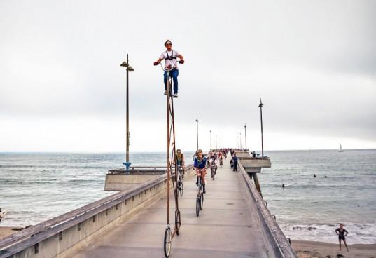 Создан самый высокий в мире велосипед