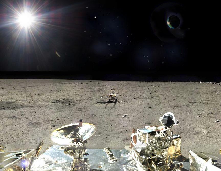 Китайские фотографии с луны
