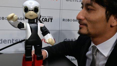 Сегодня к МКС отправился робот Kirobo