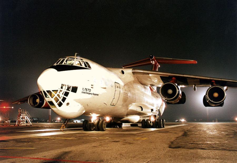 """""""Летные и тактико-технические данные самолета Ил-76 позволили решать практически весь комплекс разнообразных и..."""
