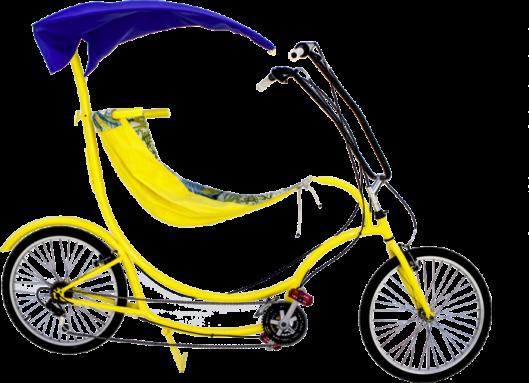 Велосипед BananaHama посадит вас в гамак