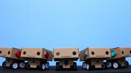 Роботы BlabDroid хотят пообщаться
