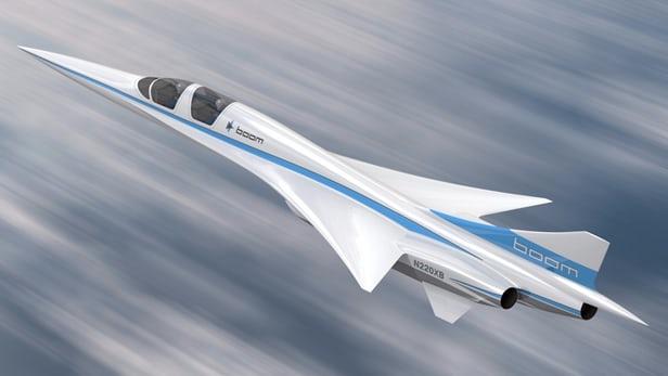 Ричард Брэнсон представил прототип сверхзвукового пассажирского самолета