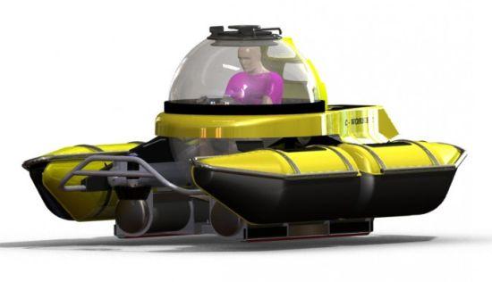 Explorers электрическая субмарина для