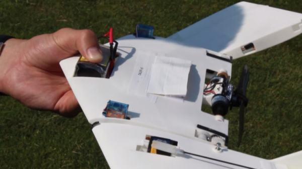 Построен первый в мире ходячий беспилотный летающий аппарат