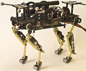 Робот, который бегает как кот