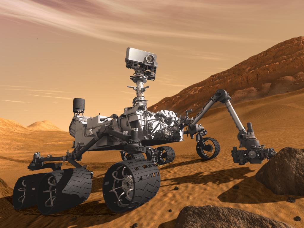 Новый ровер NASA изучает космическую радиацию по пути к Марсу