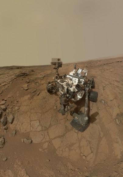 Бесподобное панорамное фото от Curiosity