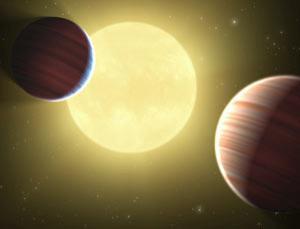 Новые данные от Кеплера: две планеты разделяют одну орбиту