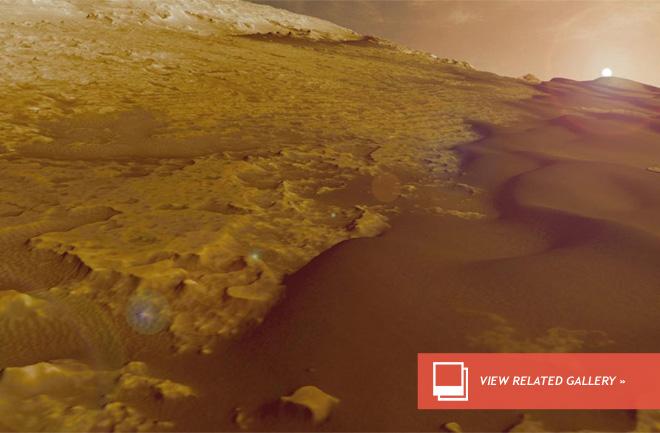 На пути Curiosity движущиеся песчаные дюны