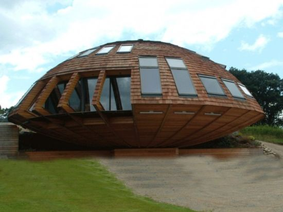 Domespace вращающийся дом будущего