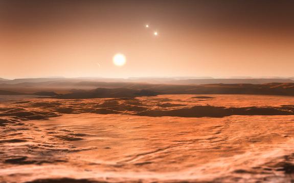Обитаемые планеты вокруг Gliese 667C