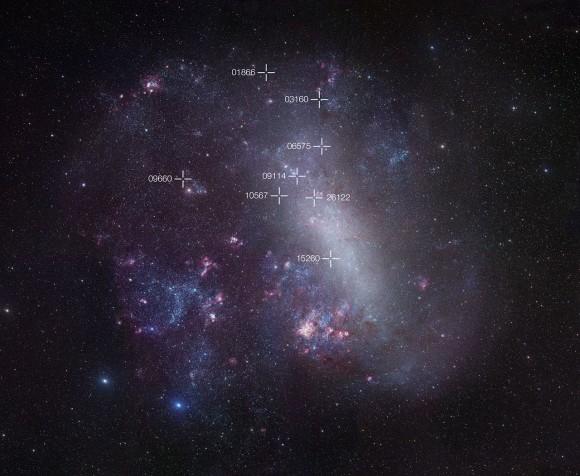 Учёные уточняют расстояние до Большого Магелланова облака
