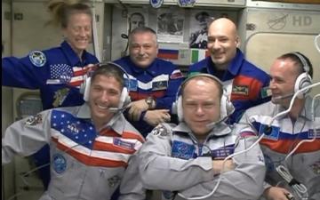 МКС приняла новых космонавтов