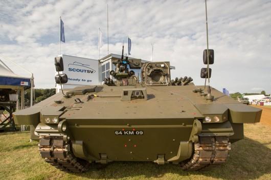 На вооружении Британии появится новая боевая машина