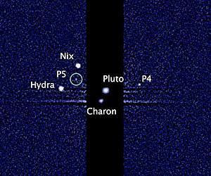 Новые спутники Плутона обзаведутся именами