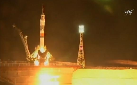 Корабль «Союз» успешно пристыковался к МКС